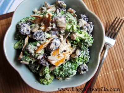 Tahini Broccoli Salad 2