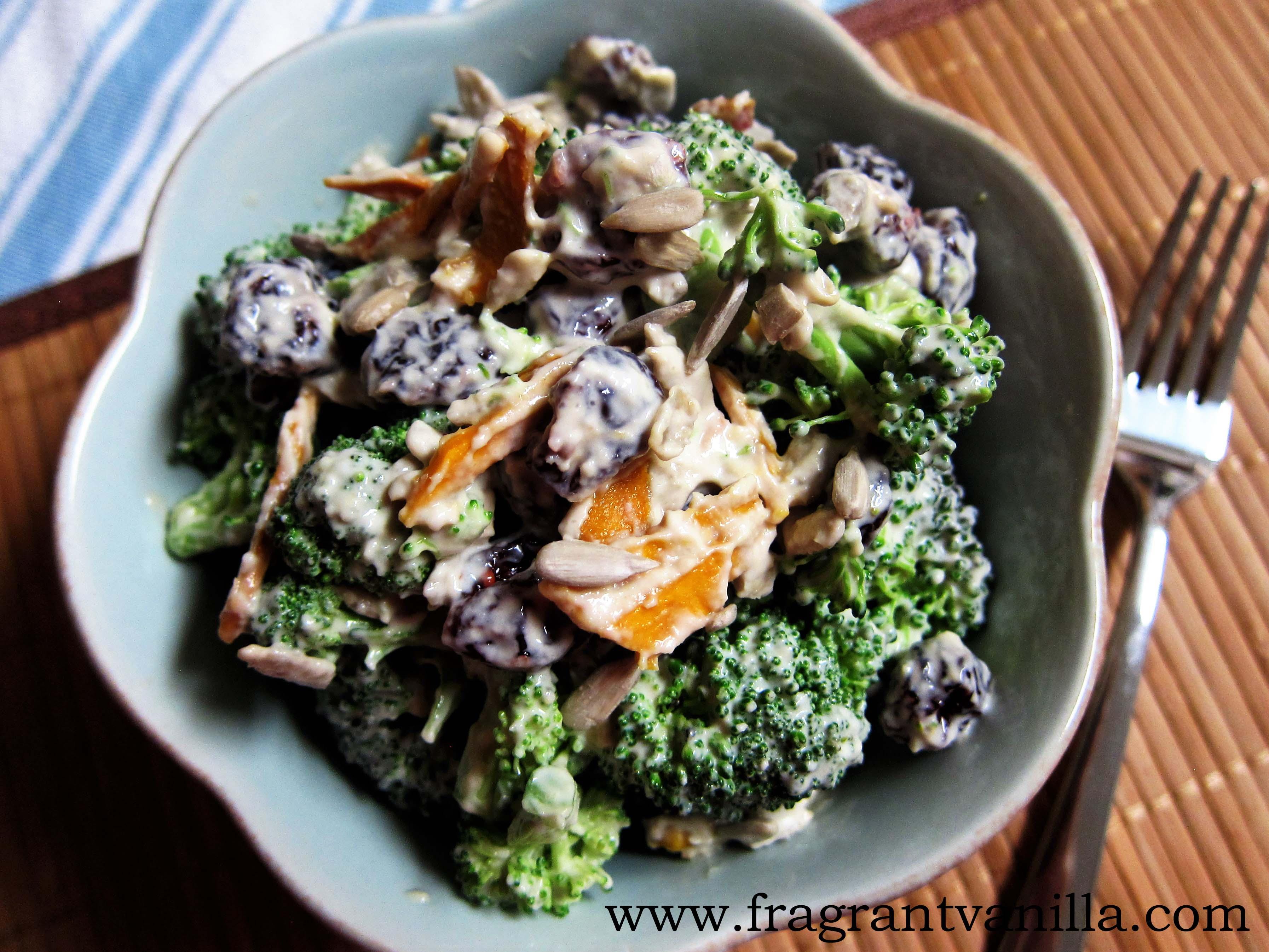 Tahini Broccoli Salad