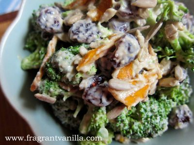 Tahini Broccoli Salad