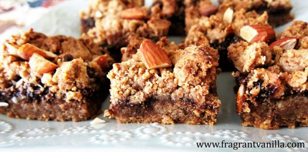 Vegan Almond Fig Bars 3