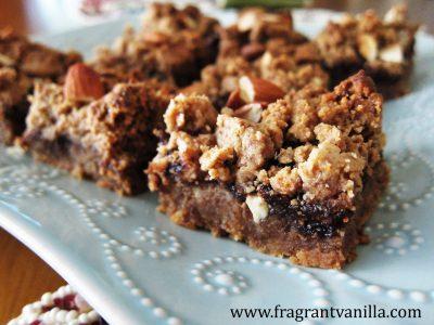 Vegan Almond Fig Bars 4