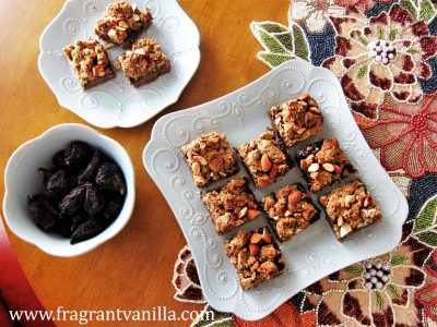 Vegan Almond Fig Bars