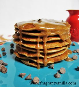 Chocolate Chip Cookie Pancakes 2
