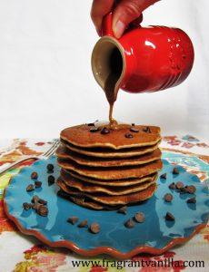 Chocolate Chip Cookie Pancakes 3