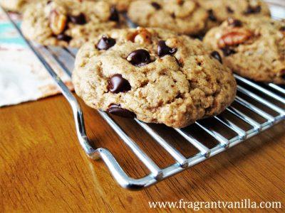 Maple Pecan Chocolate Chip Cookies 3