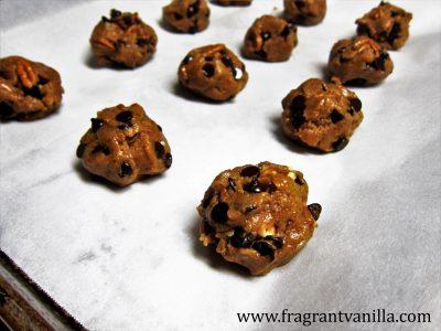 Maple Pecan Chocolate Chip Cookies 4