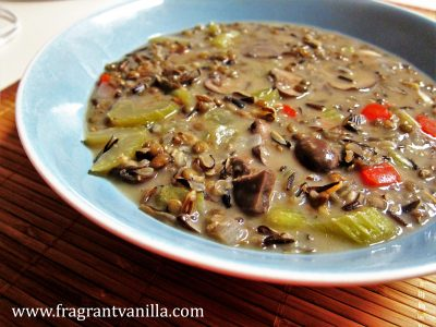 Creamy Vegan Wild Rice Soup 2