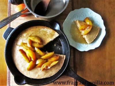 Giant Oven Pancake with Sauteed Pluots 1