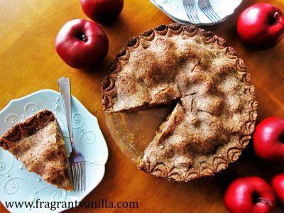 Hazelnut Crusted Apple Pie 2