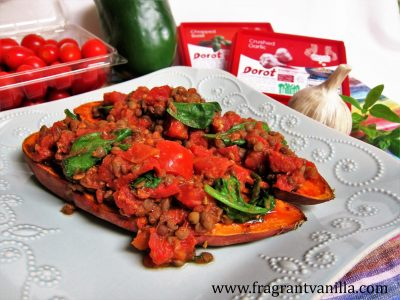 Italian Stuffed Sweet Potatoes