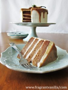 Pear Caramel Cake with Cream Cheese Frosting 1