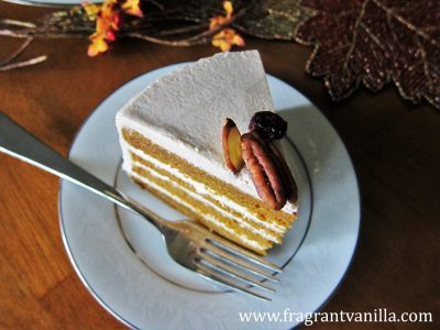 Vegan Pumpkin Spice Cake with Cream Cheese Frosting ...