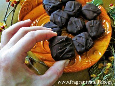 Pumpkin Spice Caramels 2