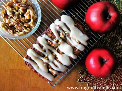 Vegan Apple Maple Walnut Cake 1