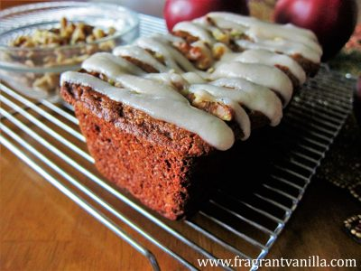 Vegan Apple Maple Walnut Cake 3