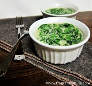 Vegan Creamed Spinach