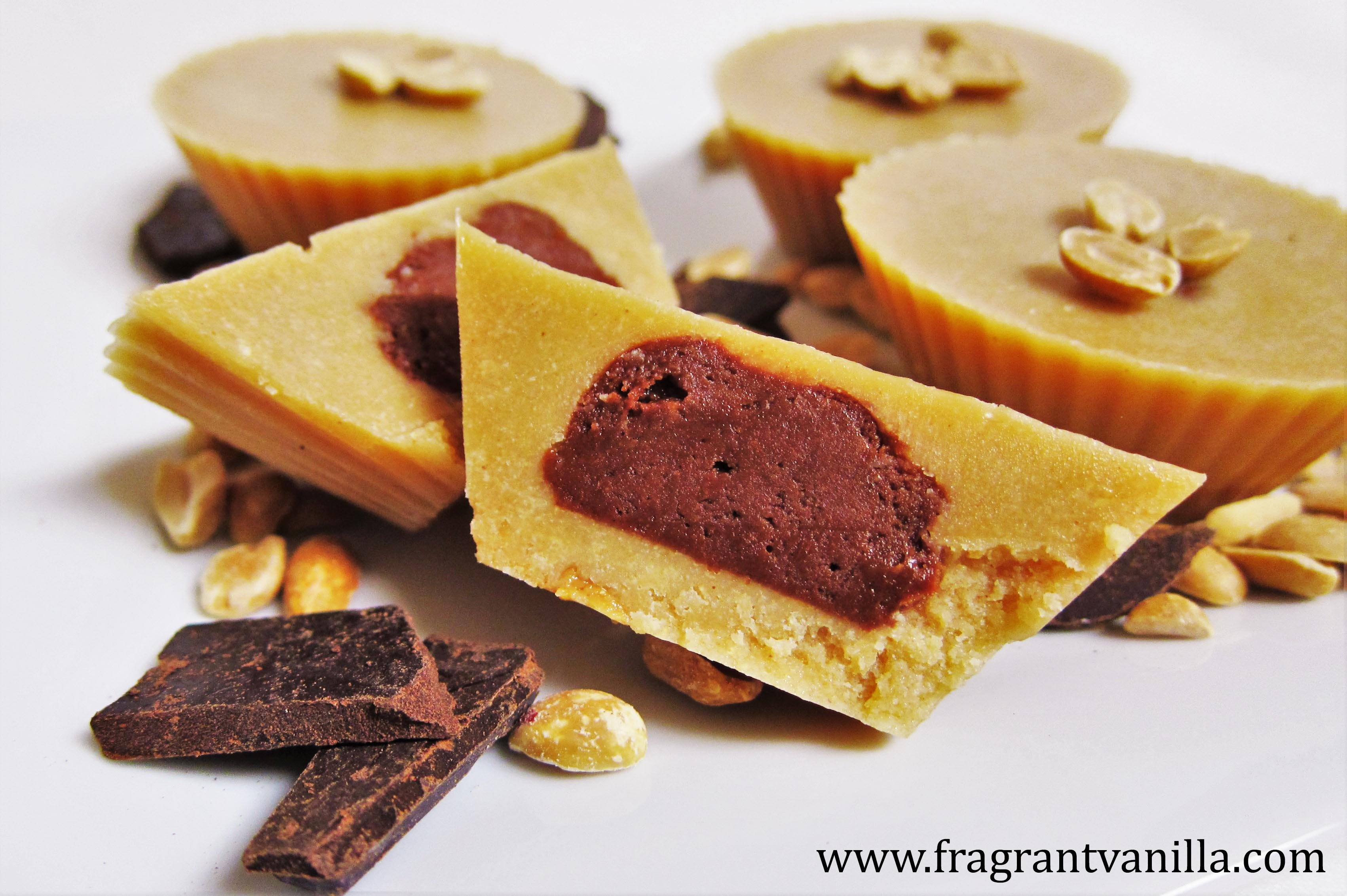 Vegan Inside Out Peanut Butter Cups