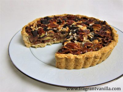 pecan-coconut-chocolate-chunk-tart-1