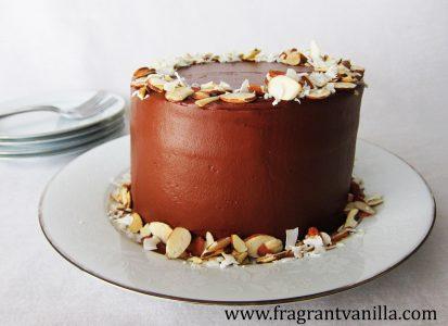 Almond Joy Cake 1