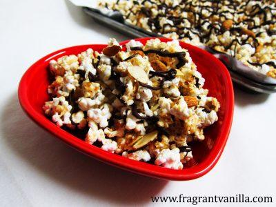 Almond Joy Popcorn 1