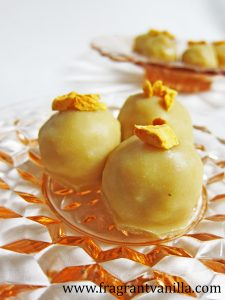 Vegan Mango Pineapple White Chocolate 1