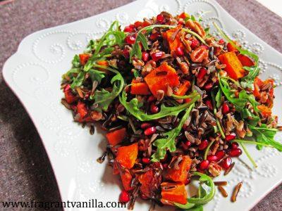 Wild Rice Sweet Potato Salad 1
