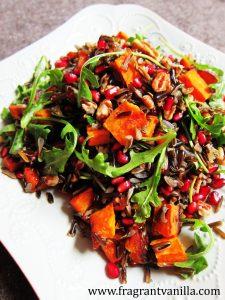 Wild Rice Sweet Potato Salad 3