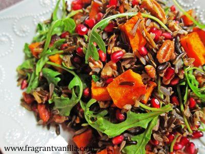 Wild Rice Sweet Potato Salad