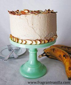 banana-almond-cake