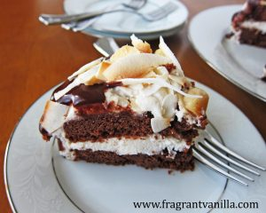 Chocolate Macadamia Coconut Cake 1