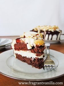 Chocolate Macadamia Coconut Cake 2