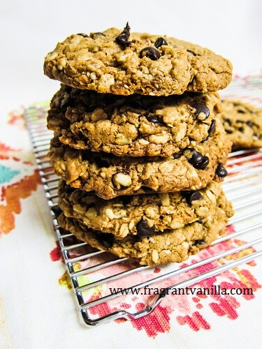 Vegan Irish Oatmeal Cookies | Fragrant Vanilla Cake