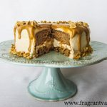 Vegan Peanut Butter Love Cake