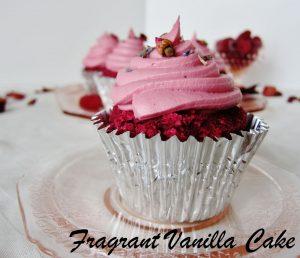 Pink Velvet Cupcakes FV