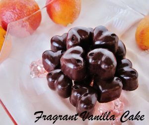 Raw Chocolate Blood Orange Caramels 1