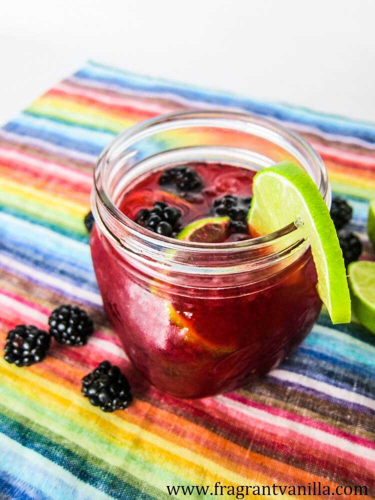 Blackberry Lime Margarita