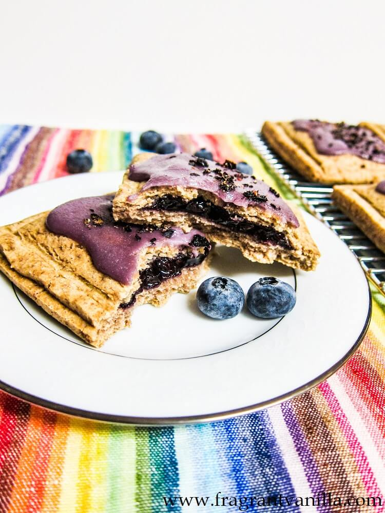 Vegan Blueberry Pop-Tarts