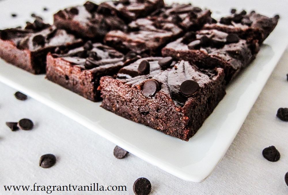 Vegan Triple Chocolate Brownies