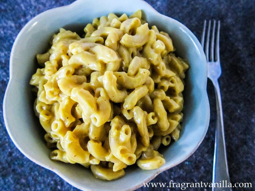 Creamy Vegan Mac and Cheese (GF)