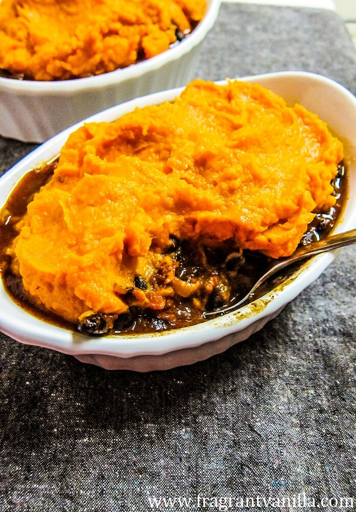 Vegan Southwest Shepherd's Pie Chili