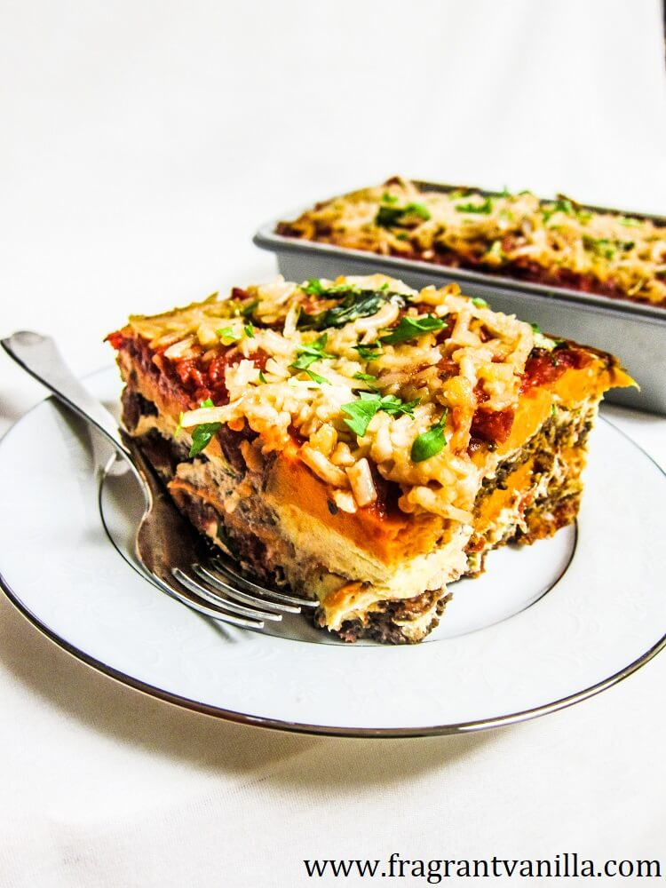 Vegan Sweet Potato Lasagna