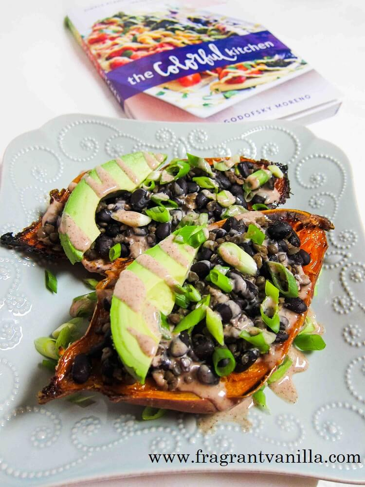 Colorful Kitchen Review and Sweet Potato Skins Recipe