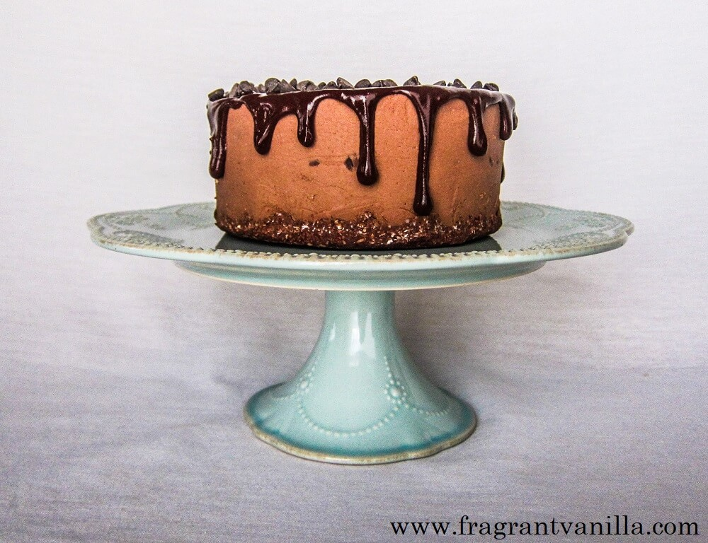 Vegan Double Chocolate Cheesecake (Nut Free)