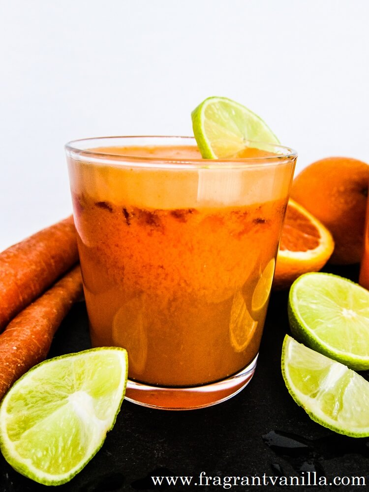 Carrot Lime Margarita