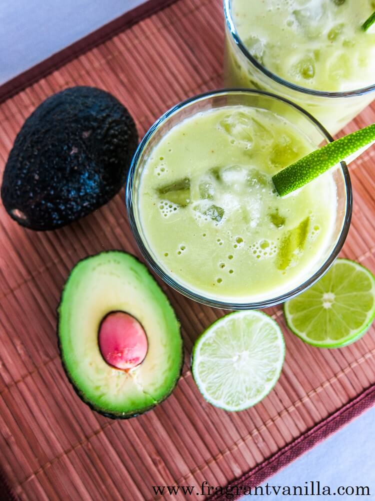 Avocado Lime Margaritas