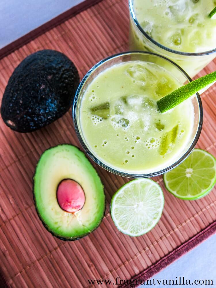 Avocado Lime Margaritas