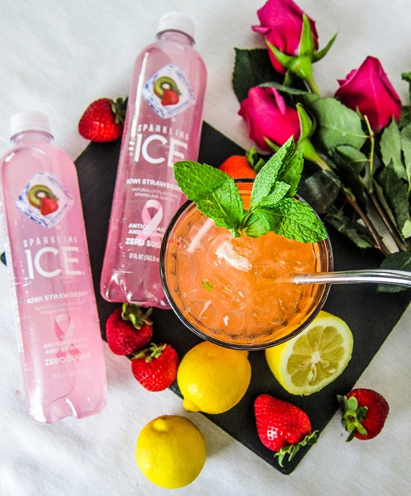 Lets get Fizzy with Sparkling ICE and my Strawberry Kiwi Sparkling Tonic!