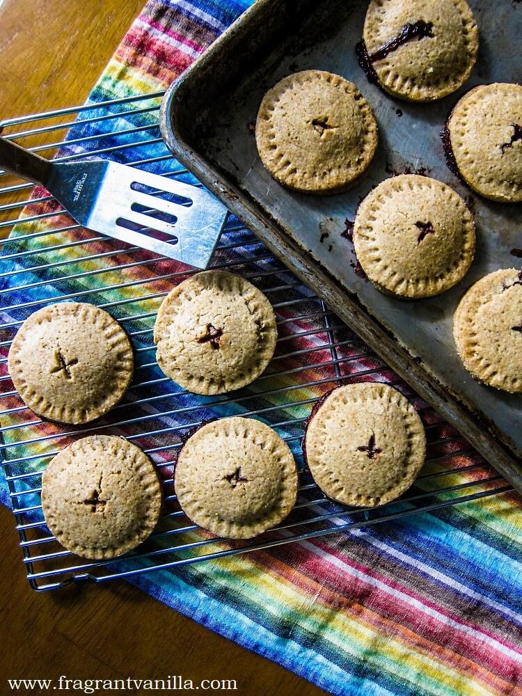 Vegan Blueberry Pie Cookies