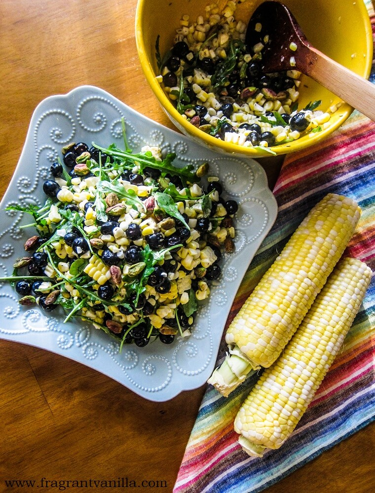Blueberry Sweet Corn Salad