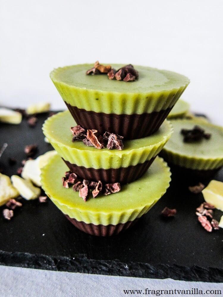 CBD Peppermint Chocolate Cups